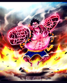 One Piece chapter 784 - Gear Fourth