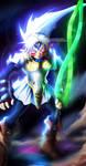 The Legend of Zelda - Fierce Deity [iPad coloring] by Kortrex