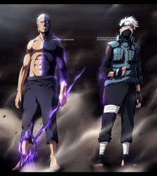 [COLLAB] Obito and Kakashi