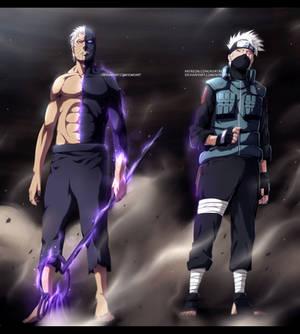 [COLLAB] Obito and Kakashi