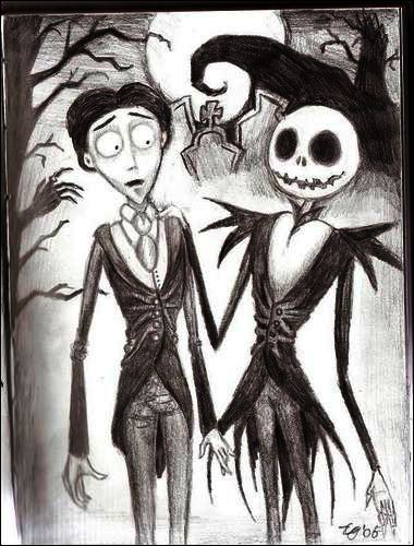 Tim burton by Xtell
