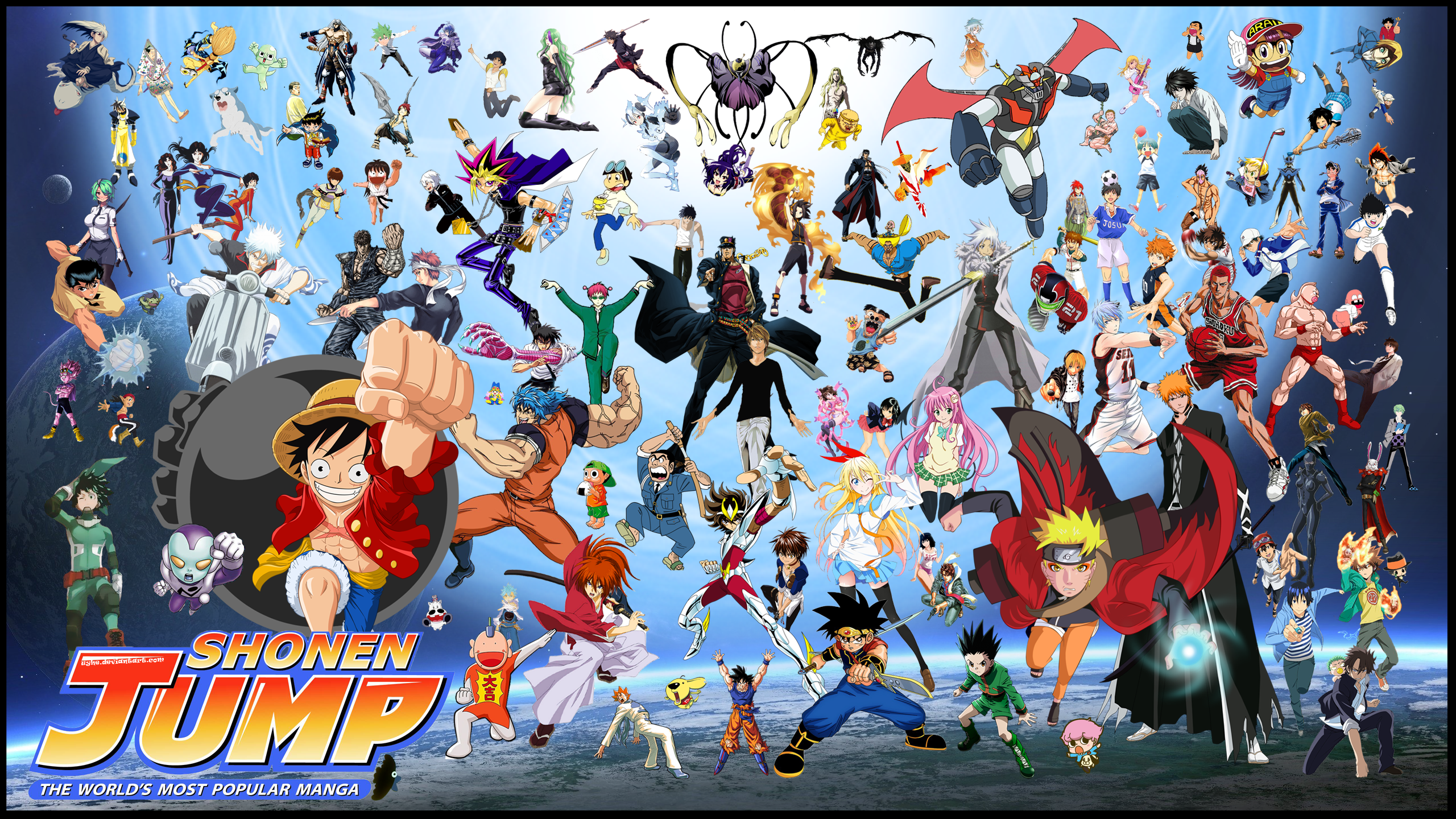 Shonen Jump Crossover By Uyhe