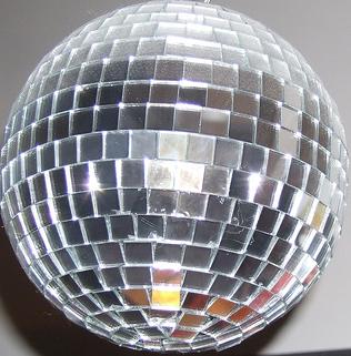 Disco Ball cut-out