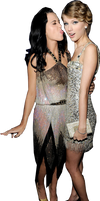 :Katy and Taylor Grammys PNG