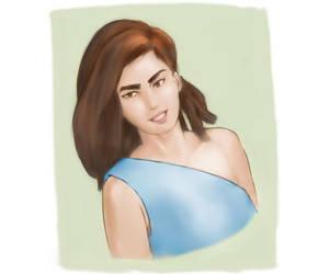 Portrait Study by Chibenobi