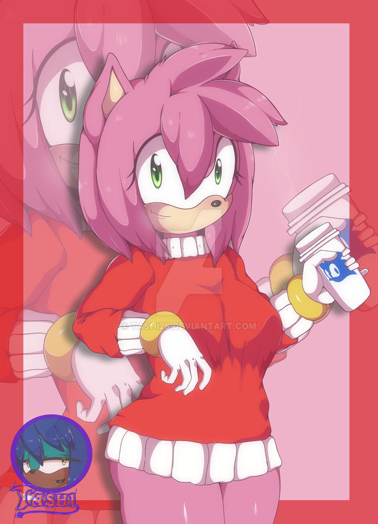 Amy rose by Tashi28