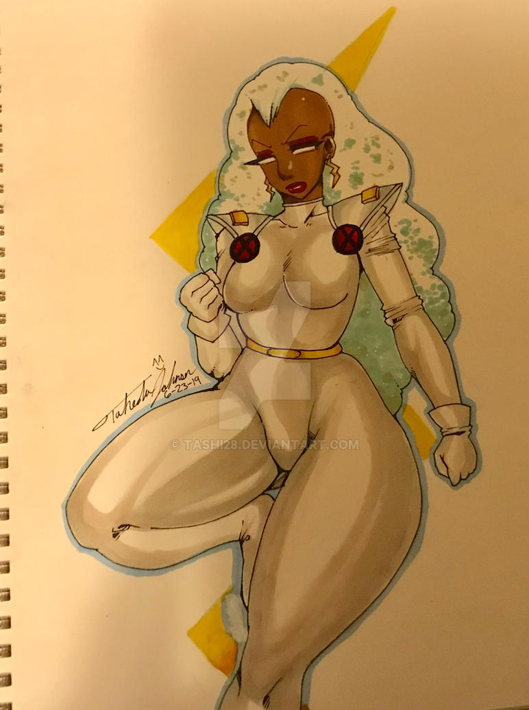 Storm from X-Men by Tashi28