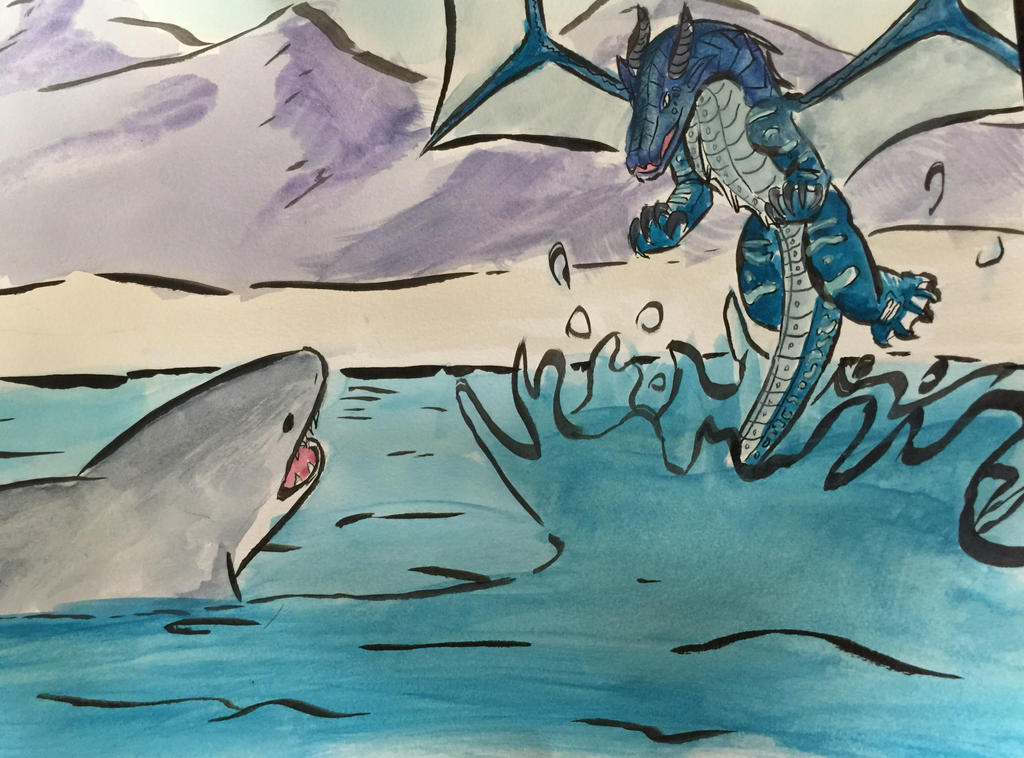 Seawing vs Great White by EDK-5012