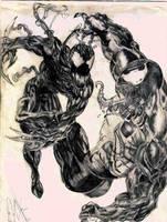 Venom Vs Carnage by Omegasin