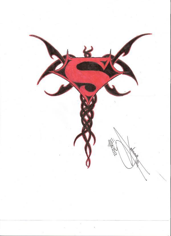 superman tattoo design by omegasin on deviantart. Black Bedroom Furniture Sets. Home Design Ideas