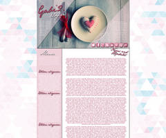 Sweet Pink Layout Preview by Hrasulee