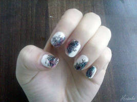 Colorful NailArt by Hrasulee
