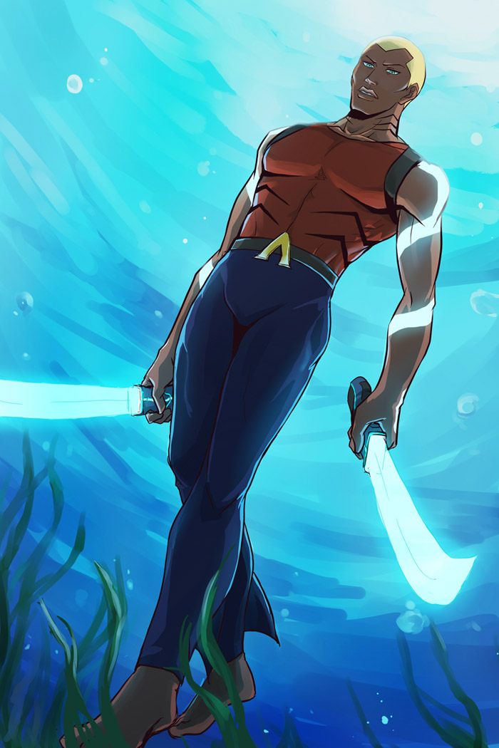 Aqualad by riyancyy777