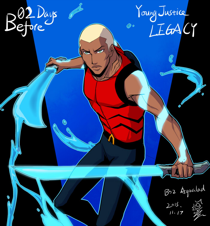 Young Justice Legacy count down 02 by riyancyy777