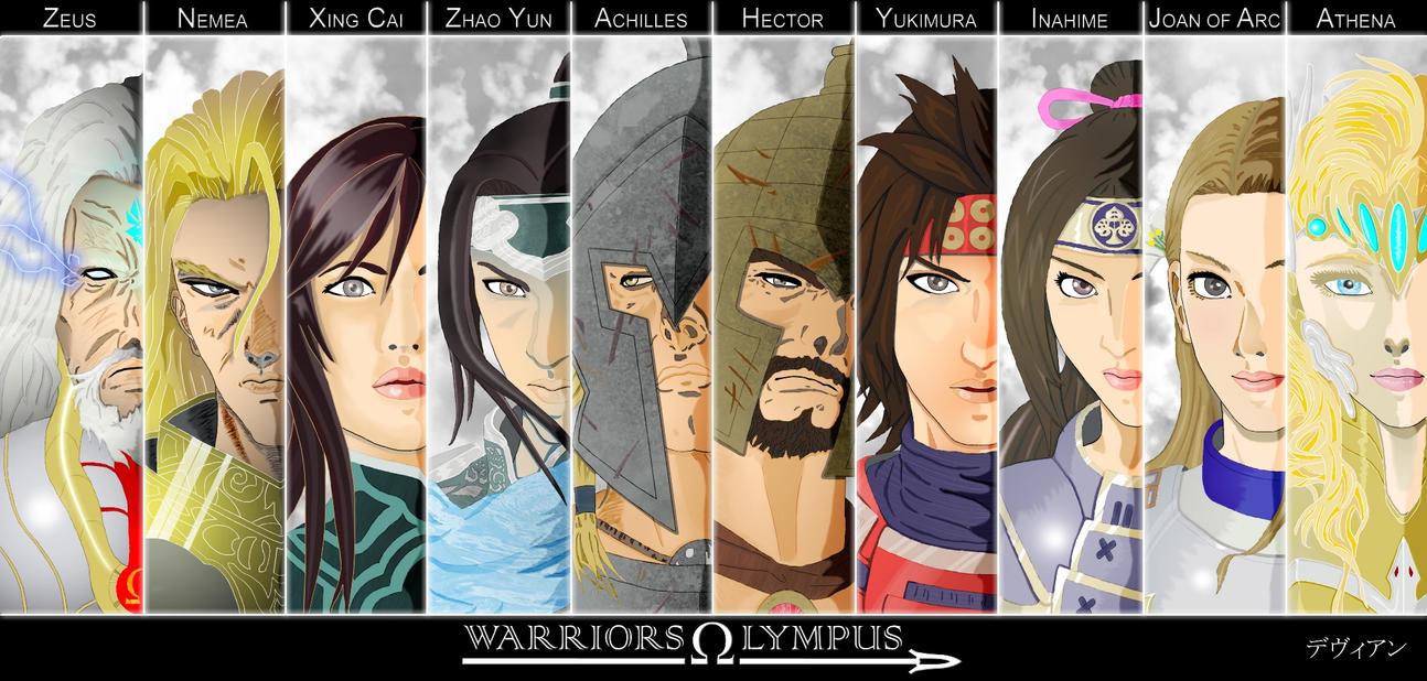 warriors olympus by davienvalentine on deviantart