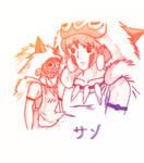 San, Princess Mononoke