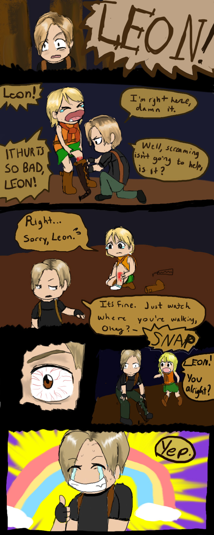 re4 - trapped by verypen