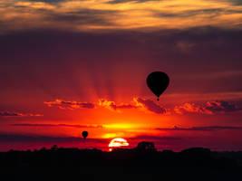Balloon Night by 311Matman