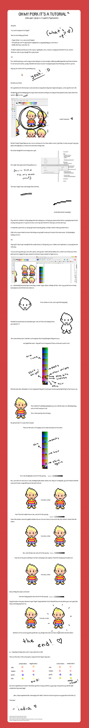 TEGAKI PIXEL TUTORIAL by gloryb-o-x