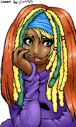 Cartoon Characters With Dreads : Rainbow dreadlocks by tenshiki on deviantart