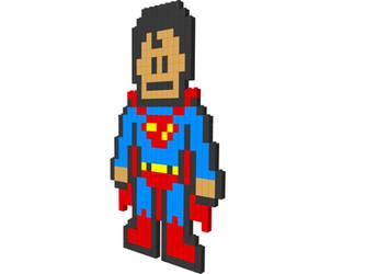 LEGO Superman 3D by keler666