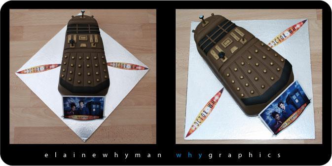 Dalek Cake by elainewhy