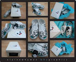 21 custom shoes by elainewhy
