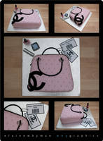 handbag cake by elainewhy