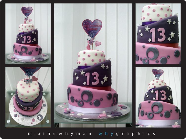 13th Birthday Cake By Elainewhy On Deviantart