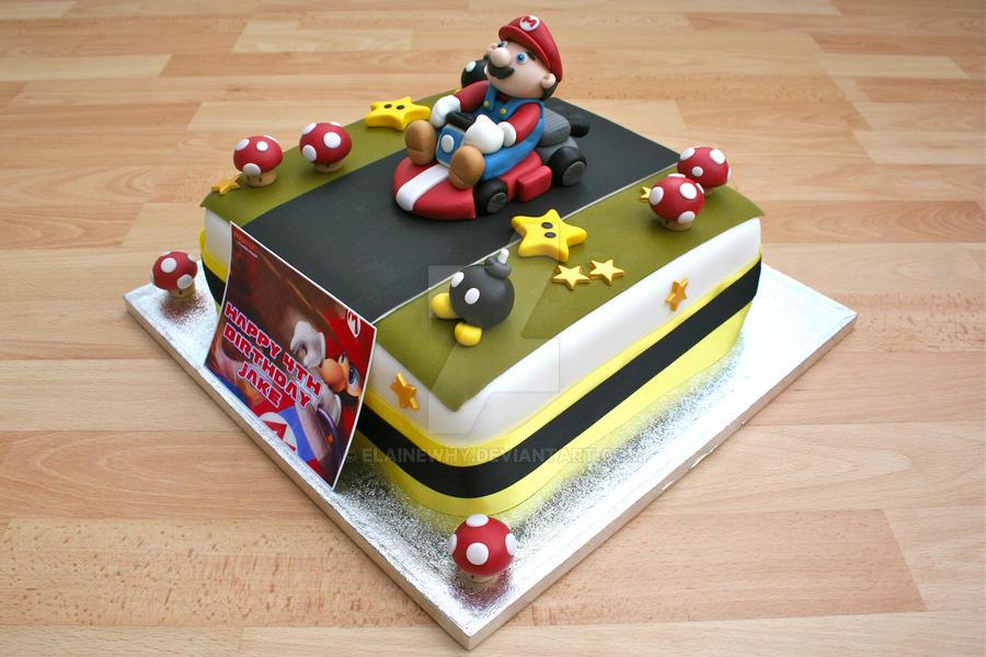 Mario Cake by elainewhy
