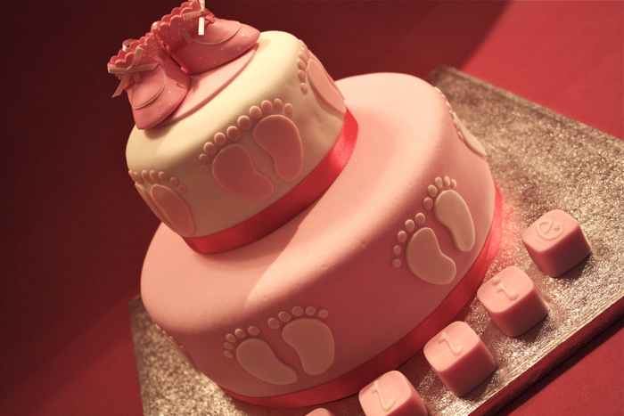 Christening Cake by elainewhy