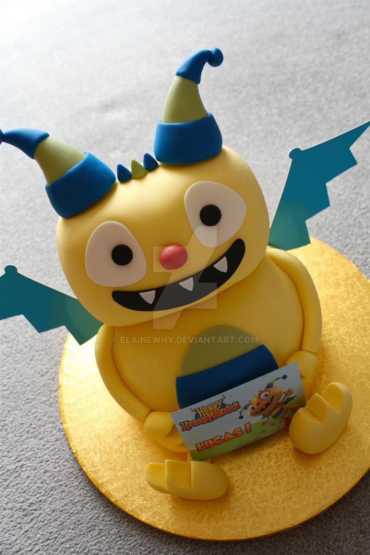 Henry Hugglemonster Cake!! by elainewhy