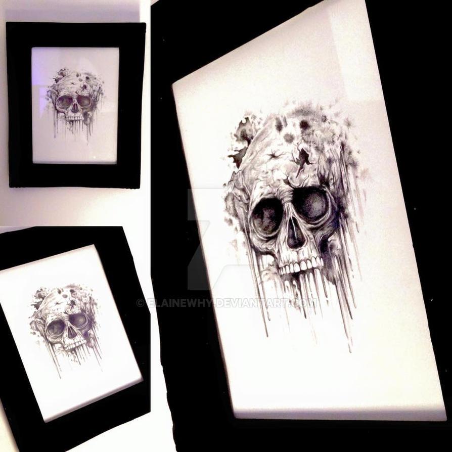 Skull by elainewhy