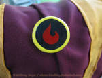 Toph's Fire Nation Button