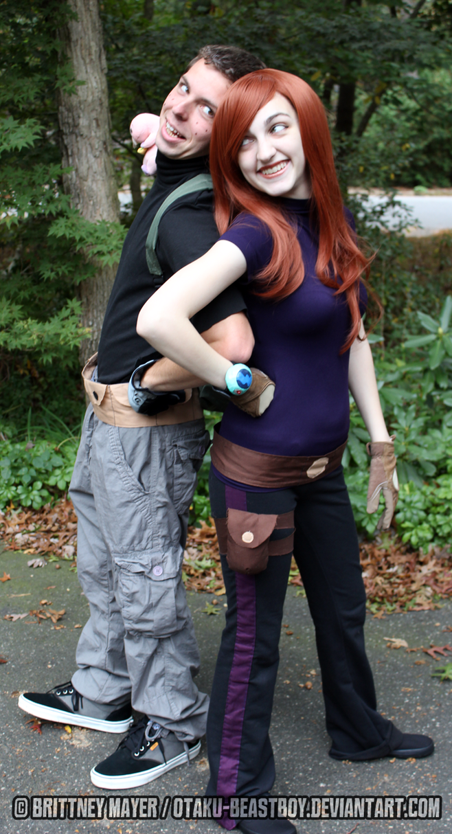 Kim possible ron stoppable cosplay