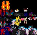 Flaming Rainbow Reference sheet 5.0
