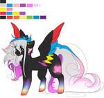 Flaming Rainbow (Rainbow Power) by OhFlaming-Rainbow