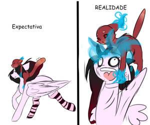 Expectation vs Reality by OhFlaming-Rainbow