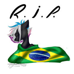 Pray for Brazil by OhFlaming-Rainbow