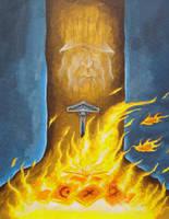 Burning Scripture by Saevus