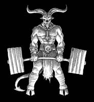Satanic Powerlifting II by Saevus