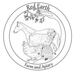 Red Earth Farm Logo by Saevus