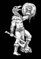 Vultureman Warrior by Saevus