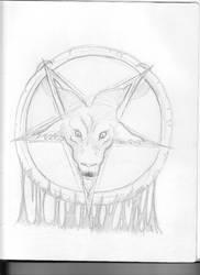 Gravewurm Sketch by Saevus