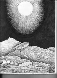 Cultes Des Goules Drawing by Saevus