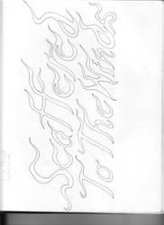 Rough Logo by Saevus