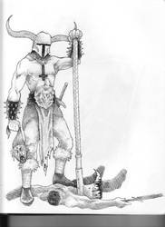 Funeral Empire Drawing by Saevus