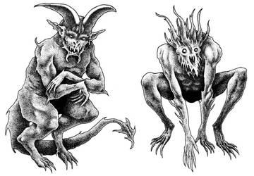 Hellhunter Demons by Saevus