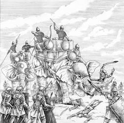 Italic Raids by Saevus
