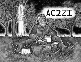 QSL Card AC2ZI